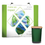 3×3 Pop up Display Package with Graphics-3435