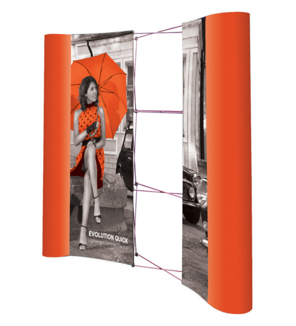 3x3 Pop up Display Package with Graphics-3434