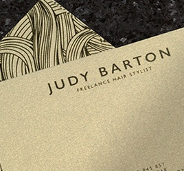 Gold Shimmer Dust Business Cards-0