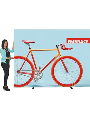 Embrace Fabric Display Stand SEG Pop-Up Graphic-3779