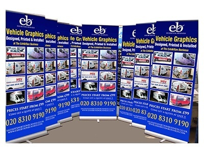 Roll Up & Pop Up Banner Stands